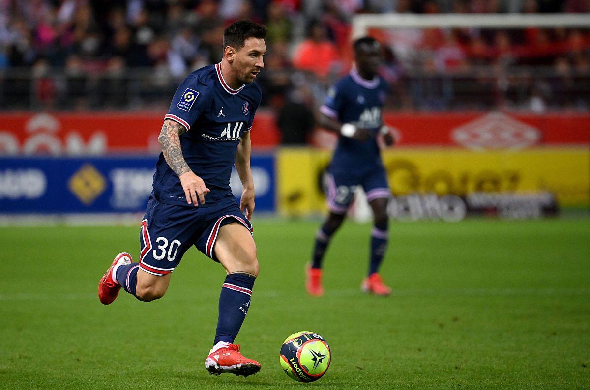 Debut de Messi en el PSG.