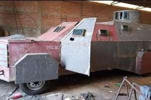FOTOS: Así la vehículo monstruo CJNG y del Mencho listo para su guerra