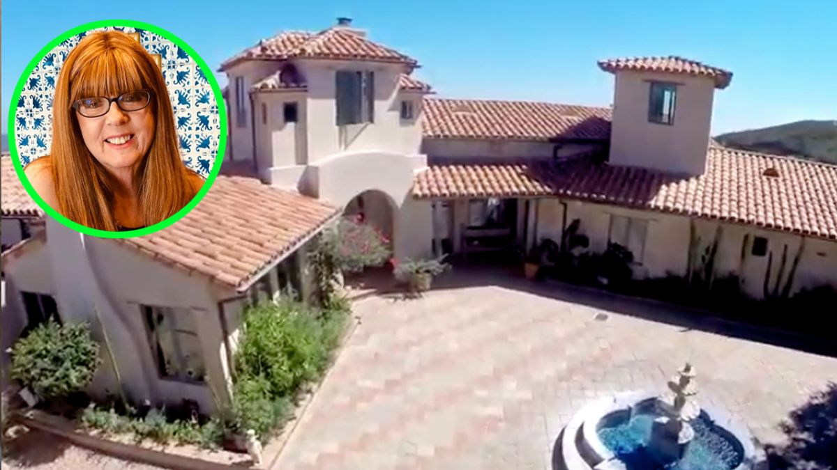 Geraldine Gilliland puso a la venta Rancho Chiquita, en Malibú.