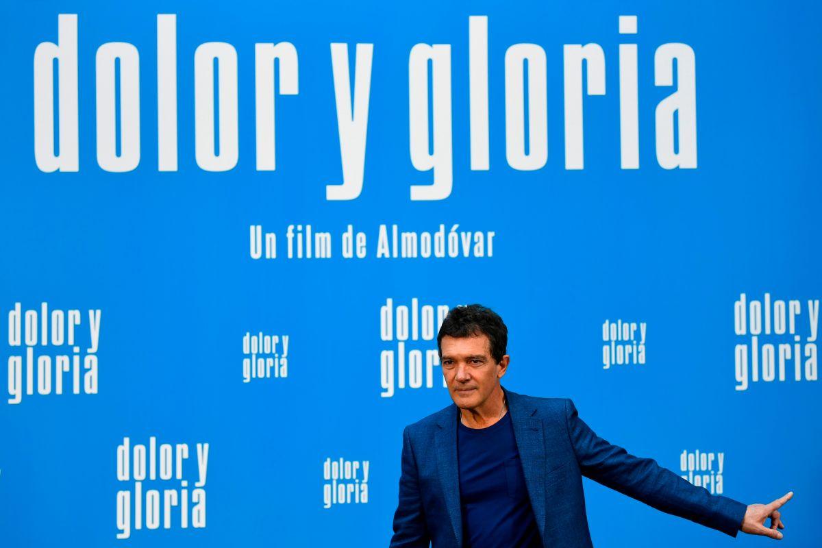 """Antonio Banderas en la premiere de """"Dolor y Gloria"""""""