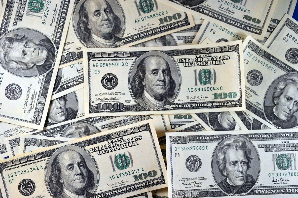 El precio del dólar frente al peso mexicano.