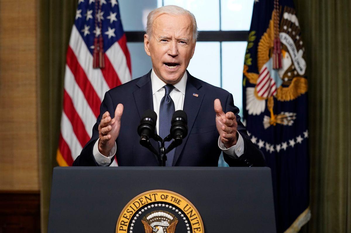 El presidente Joe Biden dará un mensaje sobre el caos en Afganistán.