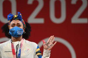 La ecuatoriana Neisi Dajomes, de la adversidad a la gloria en Tokio
