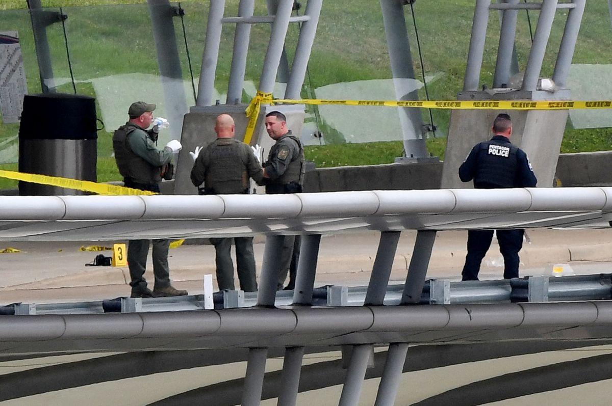 Personal militar continúa las investigaciones del tiroteo en el Pentágono