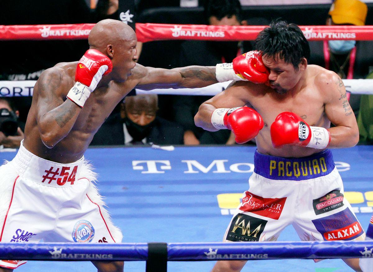Pacquiao perdió por decisión unánime ante el pugilista cubano.