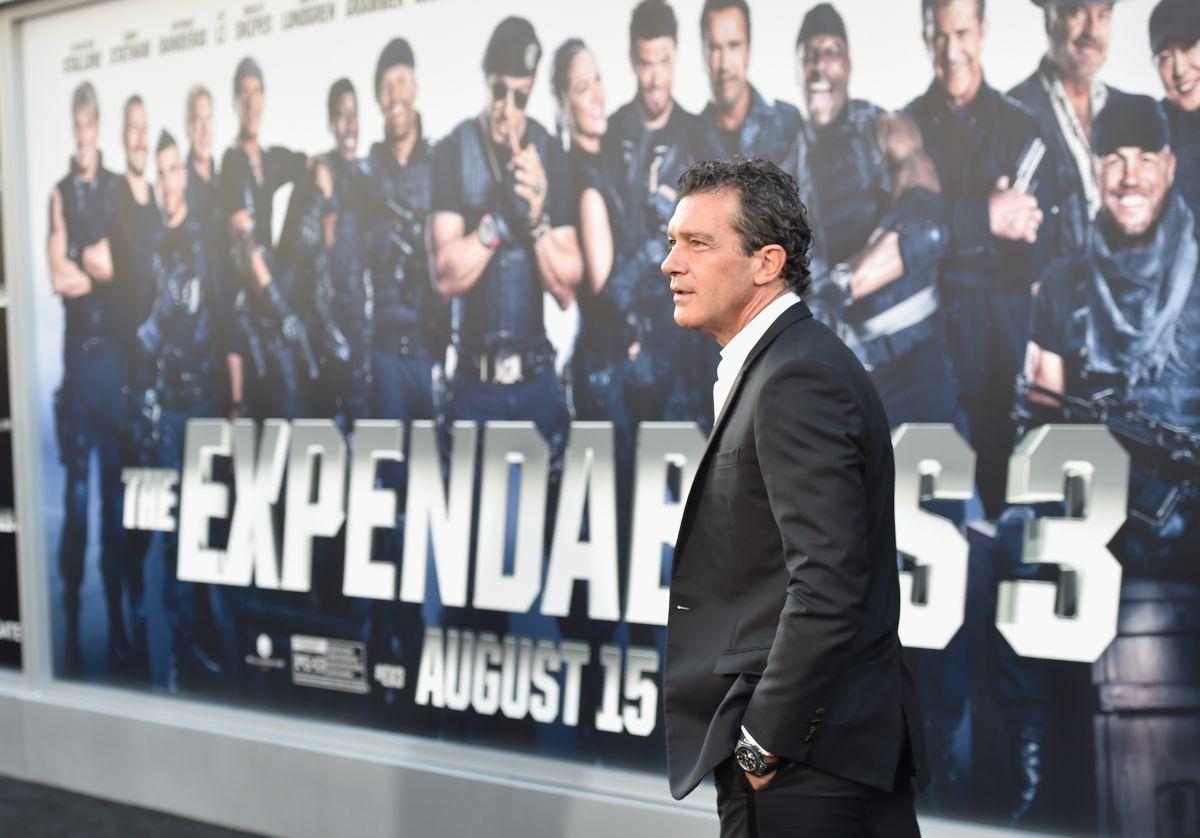 """Antonio Banderas en la premiere de """"Los Indestructibles 3"""""""