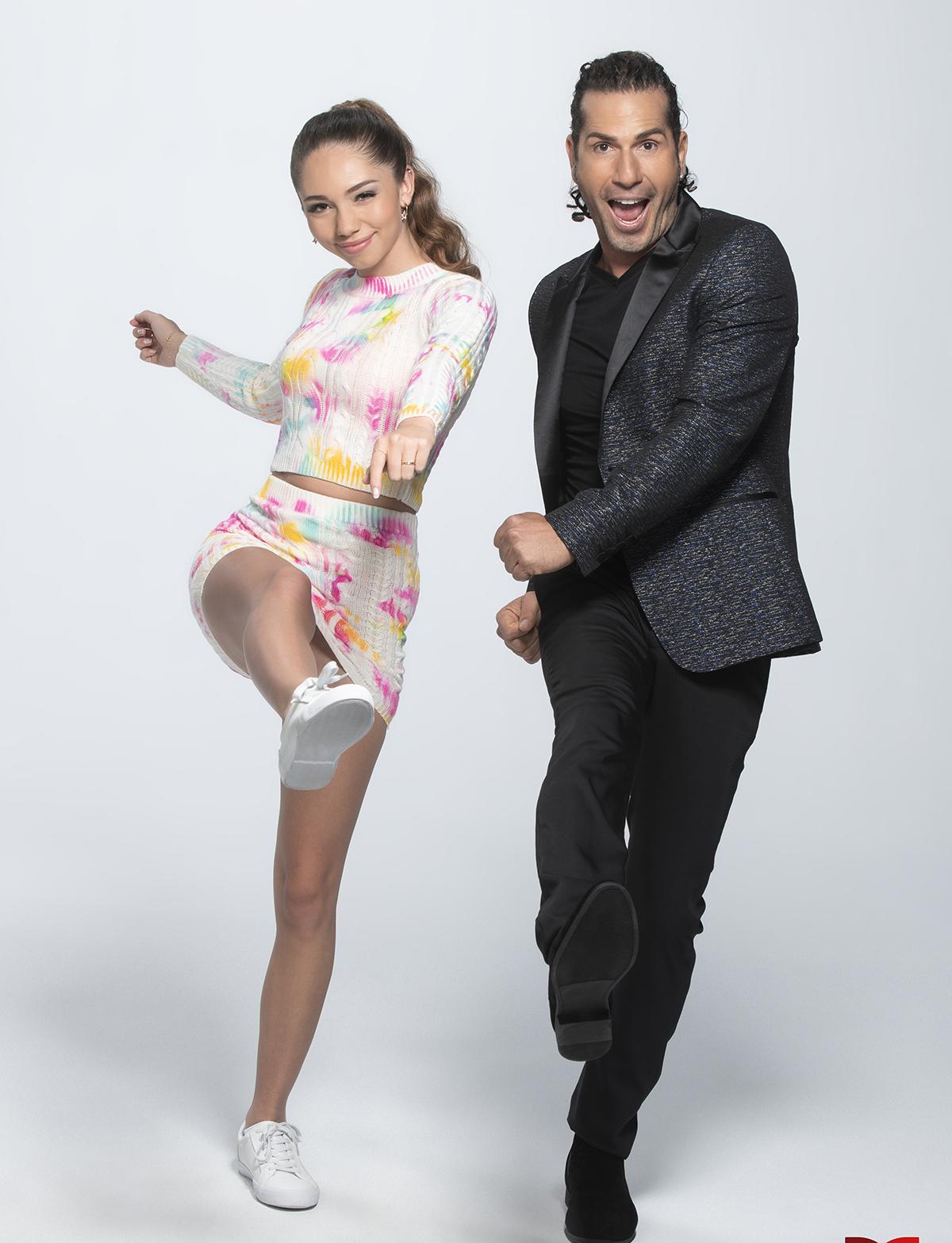 Gregorio Pernía con su hija Luna en 'Así se Baila'