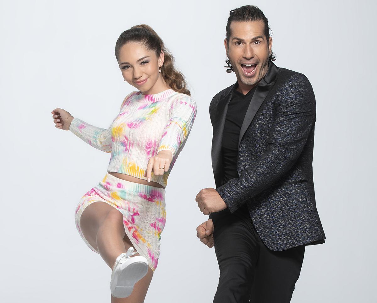 Gregorio Pernía con su hija Luna.