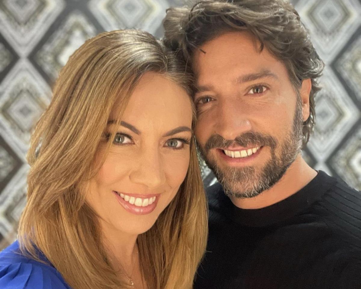 David Chocarro y Carolina Laursen.