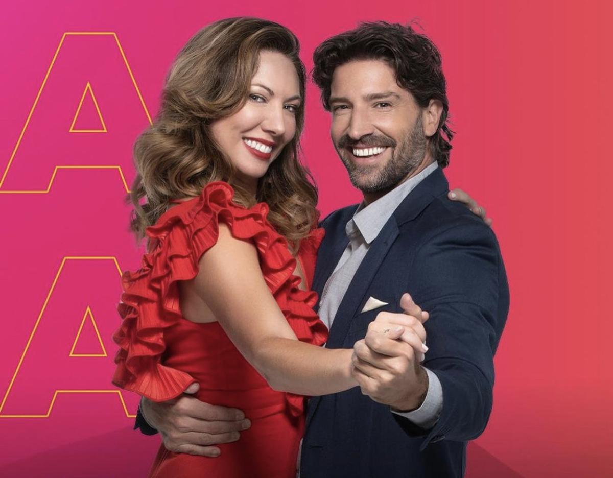 David Chocarro y Carolina Laursen en 'Así Se Baila'