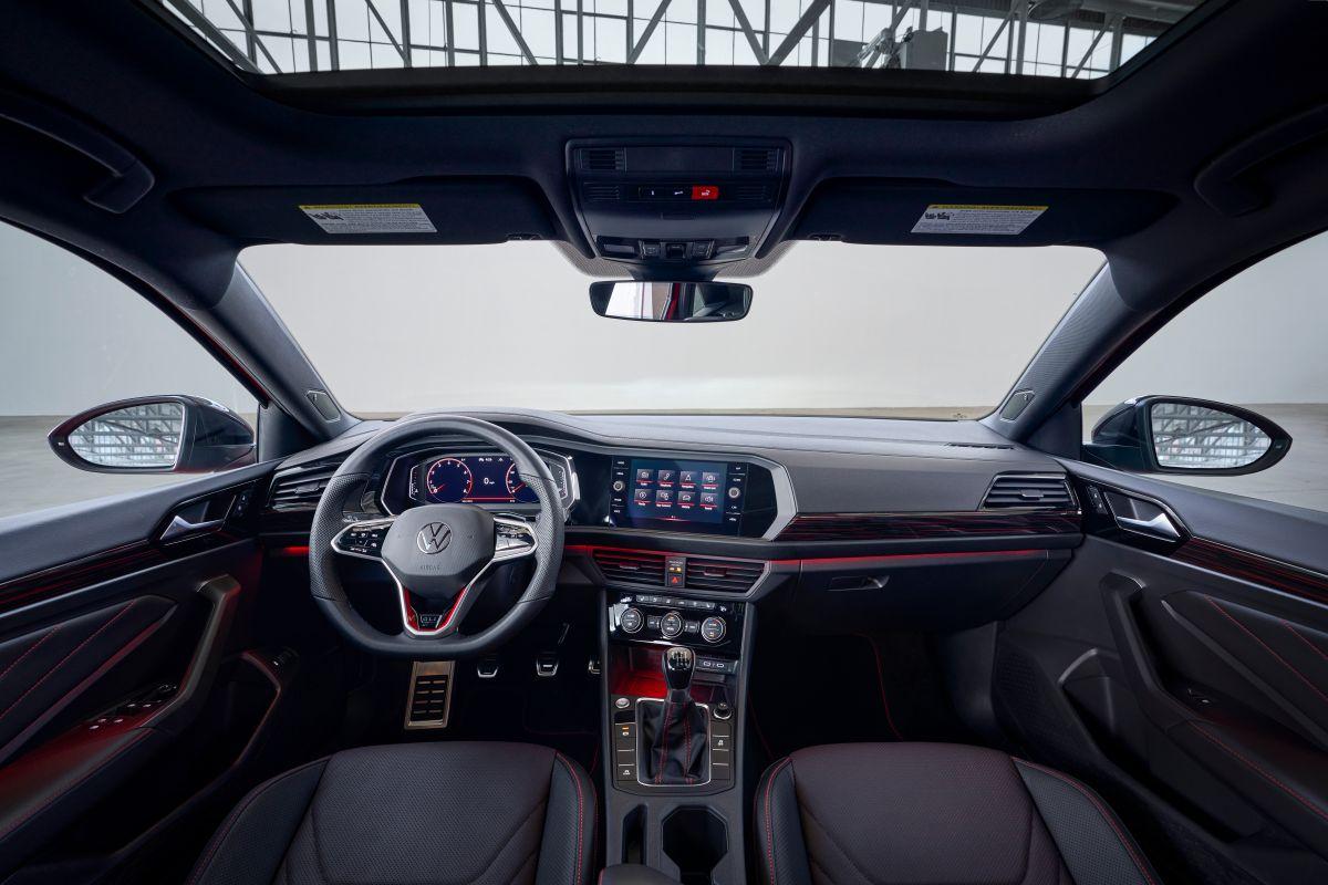 Foto del interior del Volkswagen Jetta 2022