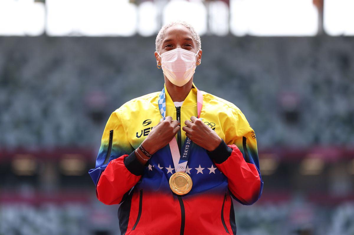 Yulimar Rojas se convirtió en la reina absoluta del salto triple.