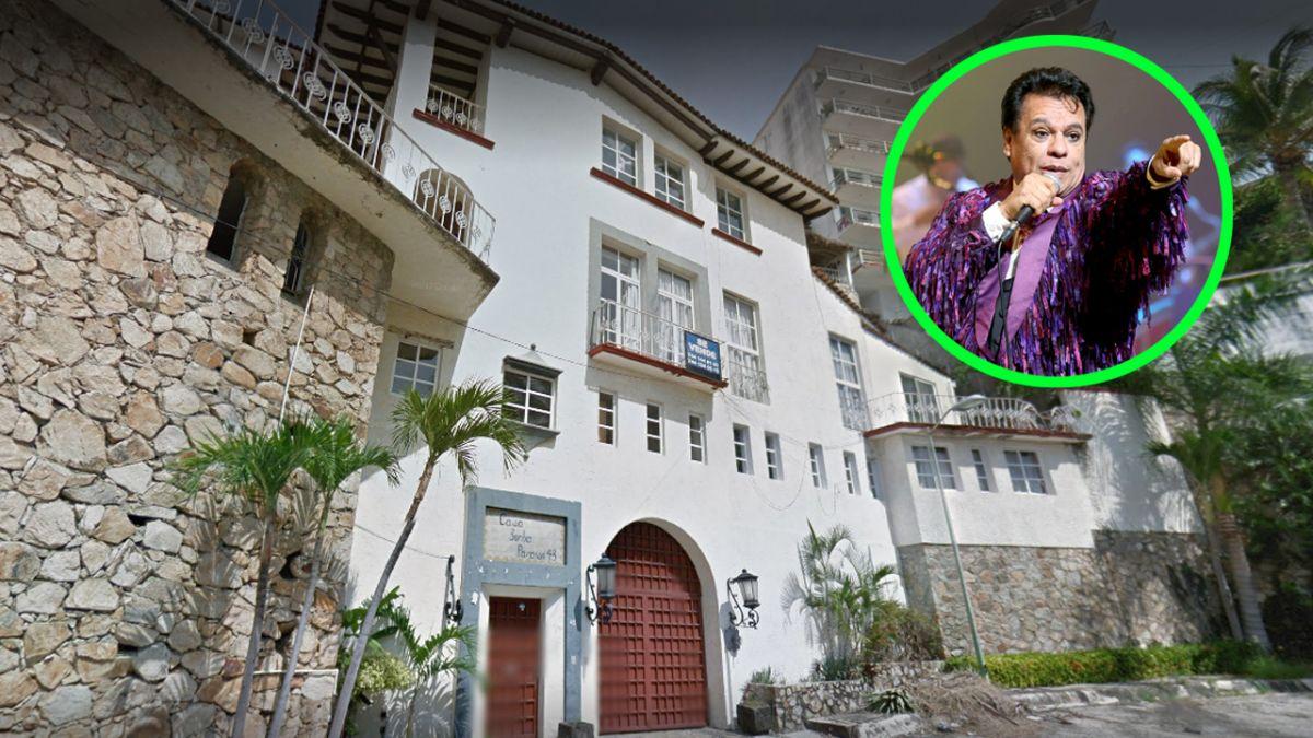 La antigua casa de Juan Gabriel en Acapulco está buscando nuevos dueños.