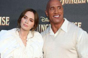 """Dwayne Johnson tuvo que """"rogarle"""" a Emily Blunt para que protagonizara con él la película """"Jungle cruise"""""""