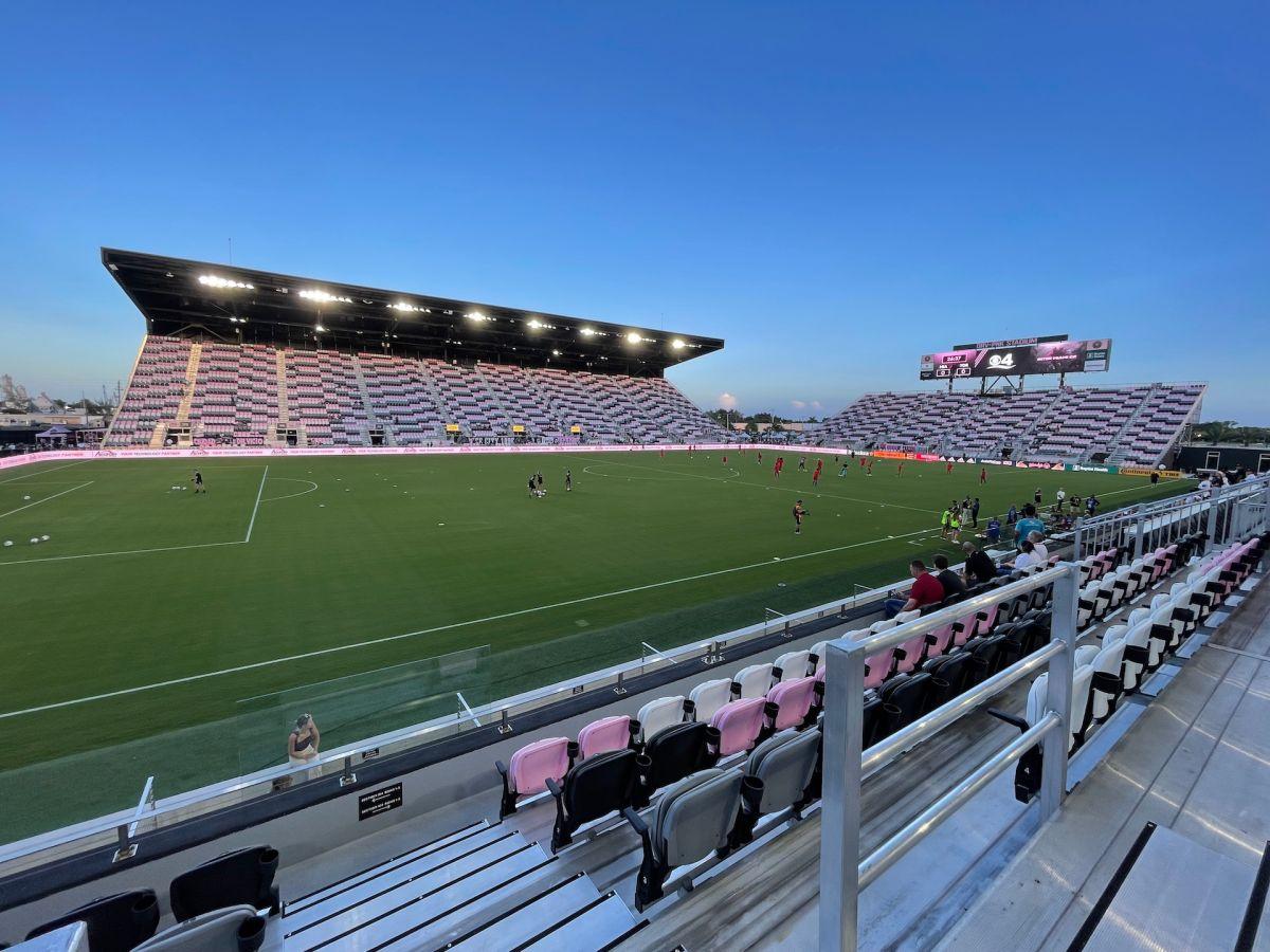 Vista del estadio DRV PNK donde actualmente juega el Inter Miami CF.