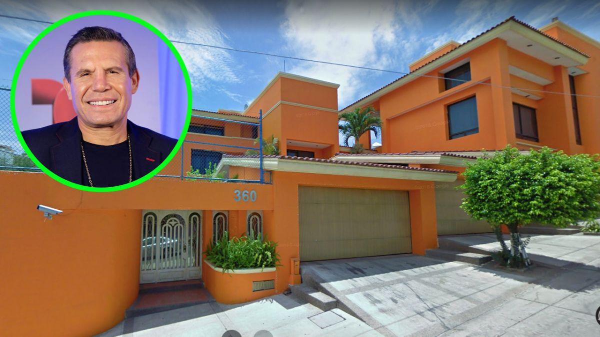 Julio César Chávez transformó su casa de Culiacán en una clínica de rehabilitación.