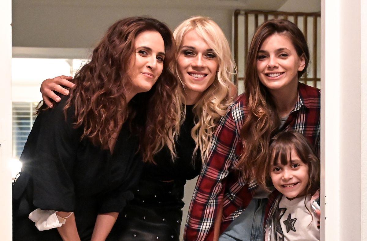 Natalie Perez, Julieta Diaz, Mariana Genesio, las protagonistas de 'Pequeñas Victorias'.