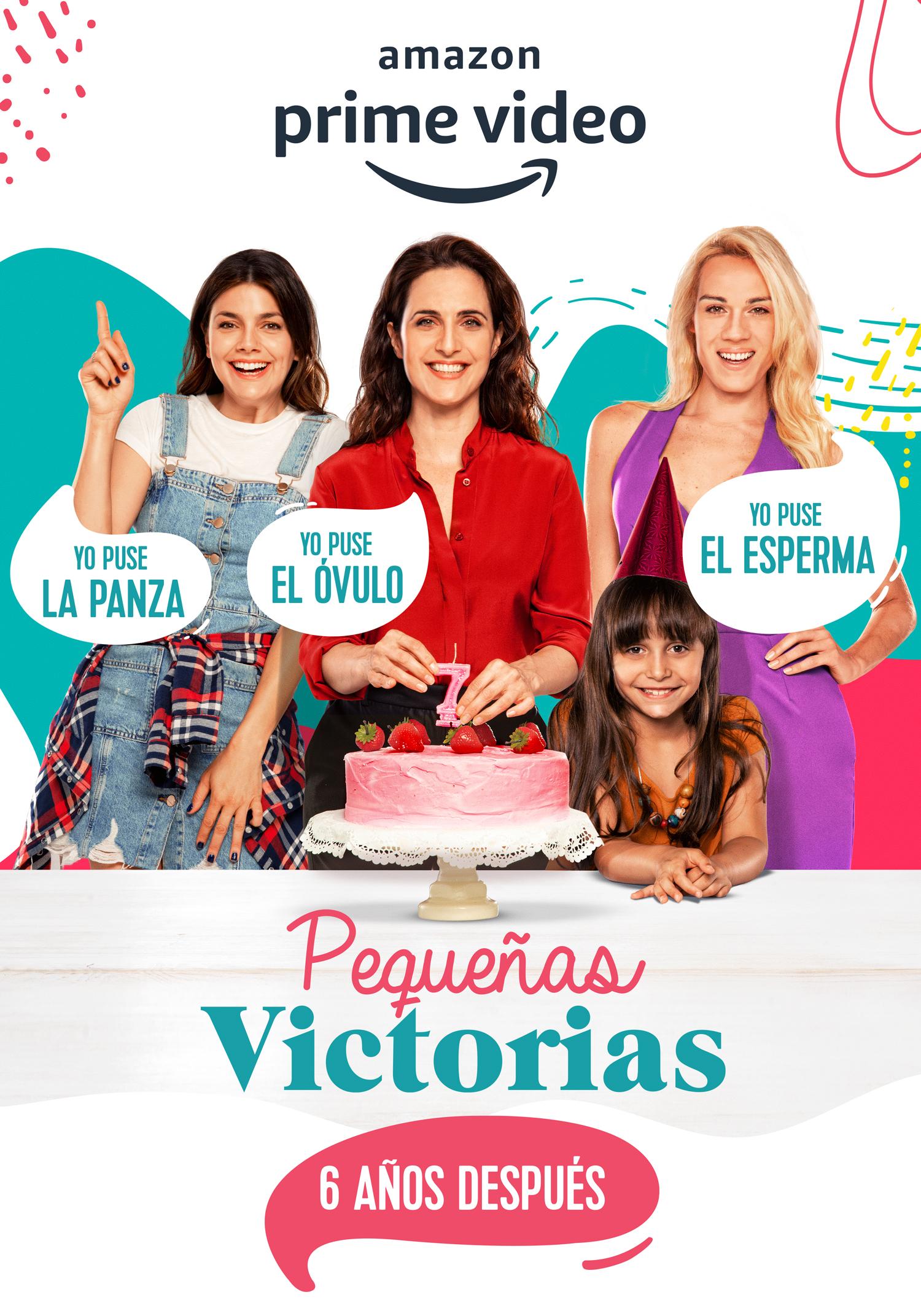 Póster de 'Pequeñas Victorias', la nueva serie de Amazon Prime Video.