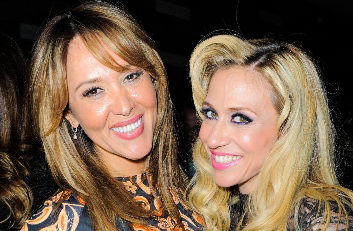 Tanya Charry y Noelia posando juntas en un evento del 2015.