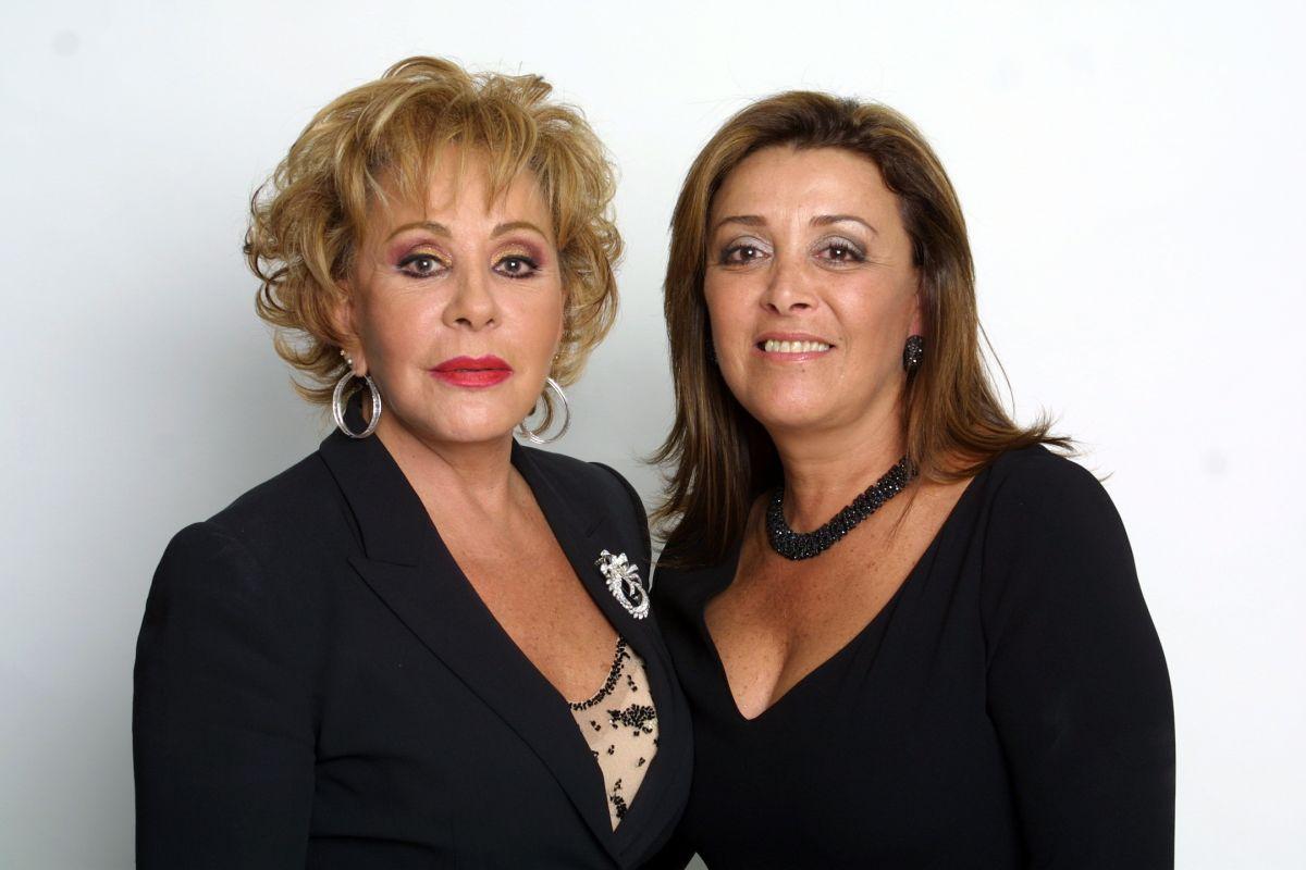 Sylvia Pasquel y Silvia Pinal.