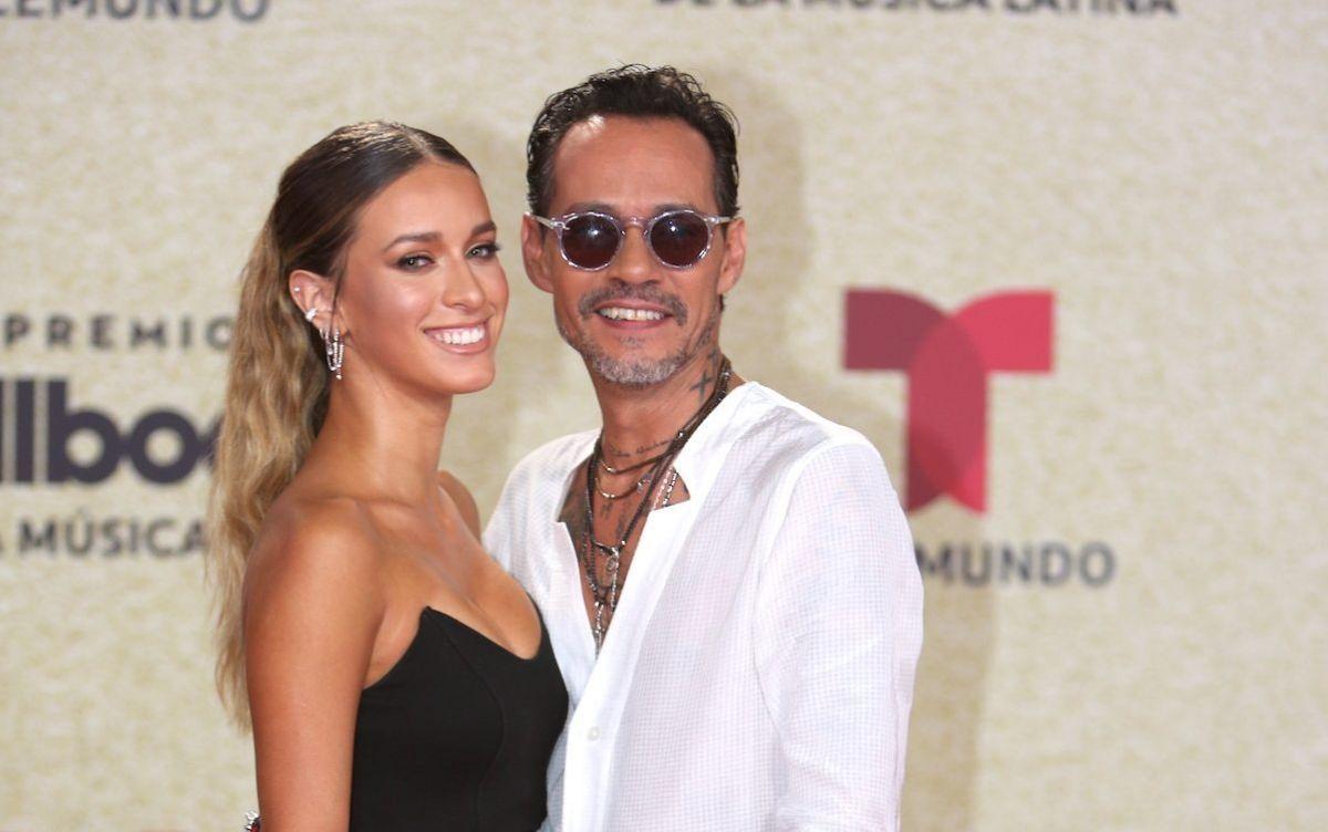 Madu Nicola y Marc Anthony fueron la pareja de la noche en la gala de los Premios Billboard.