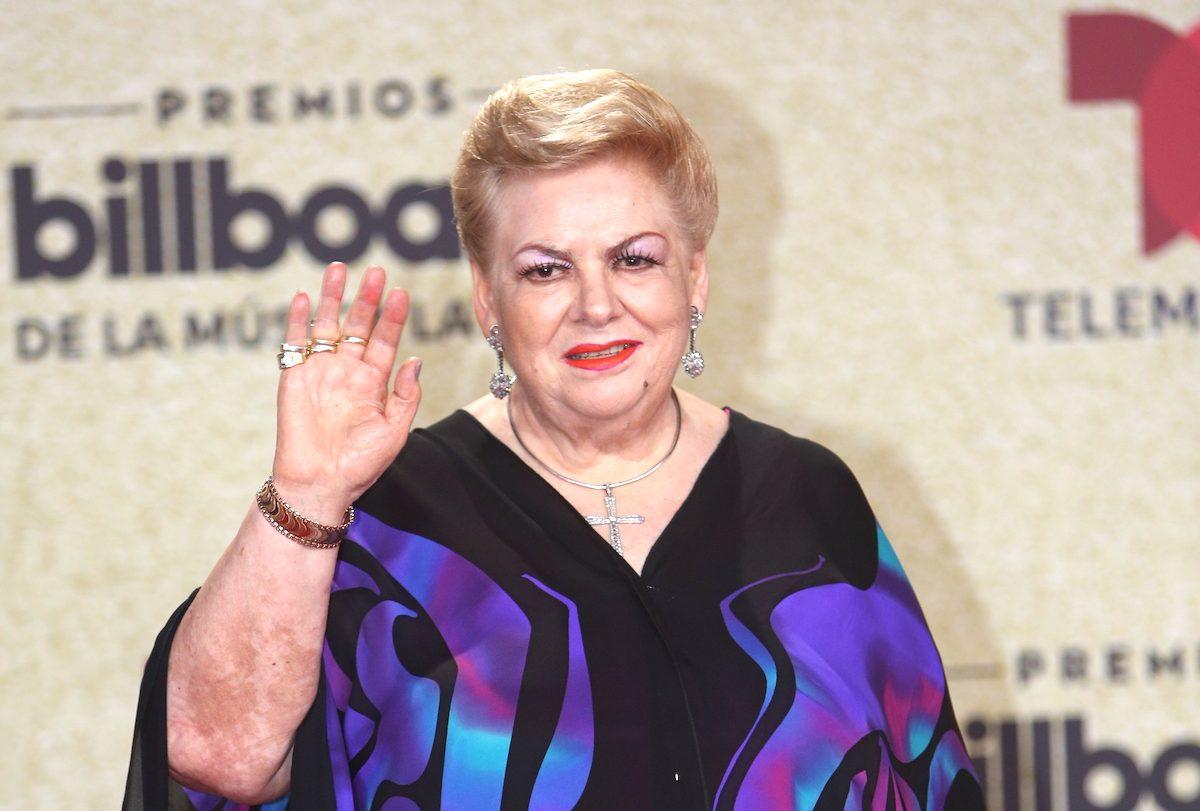 Paquita la del Barrio se convierte en la estrella de la noche en los Billboards 2021.