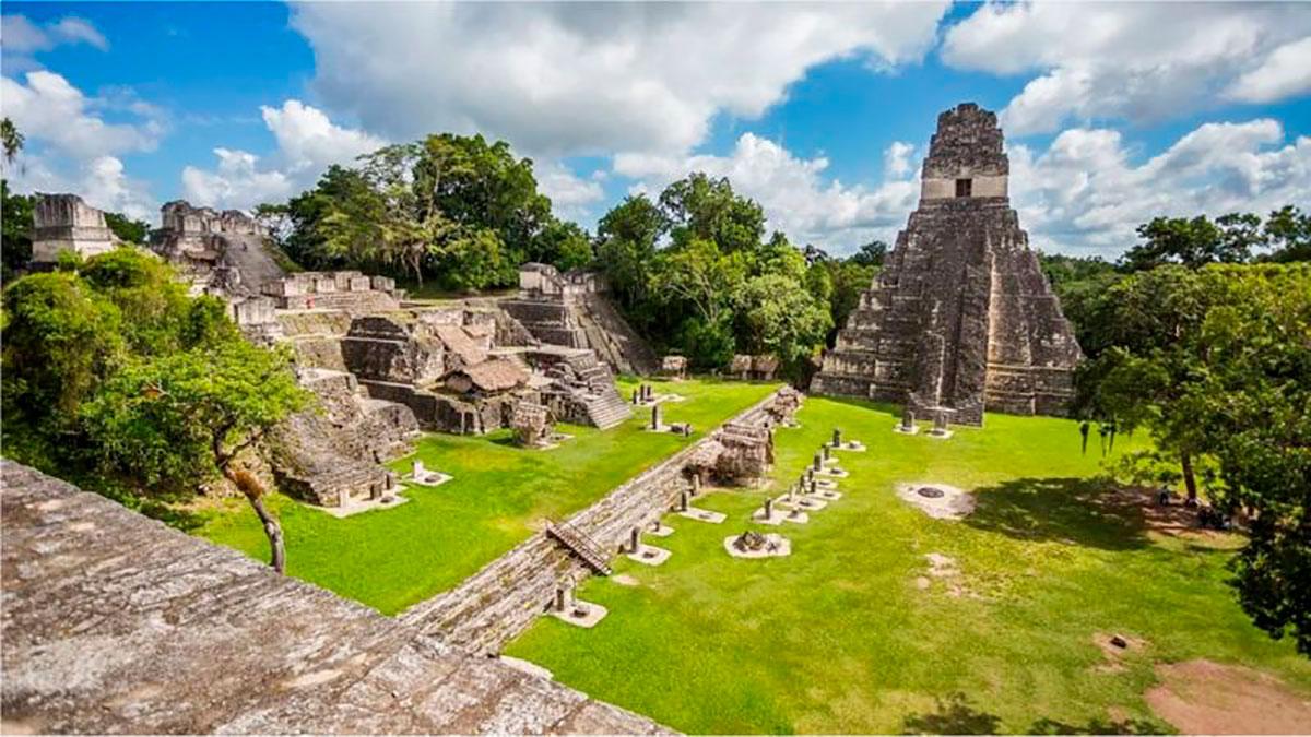El brillante invento de los mayas que aún se usa hoy para levantar una majestuosa urbe en un lugar sin agua