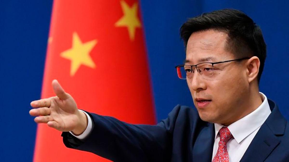 El portavoz de la cancillería china criticó duramente el acuerdo Aukus.