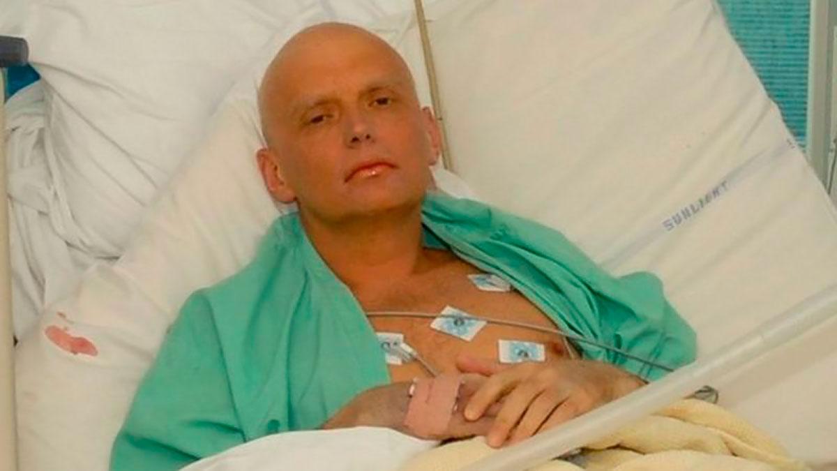Alexander Litvinenko murió en un hospital de Londres tres semanas después de haber sido envenenado con polonio.