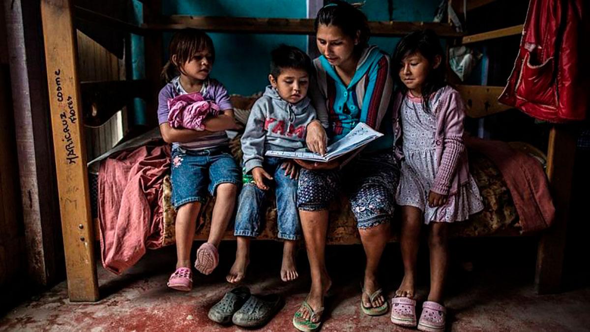 Muchos niños durante 18 meses en América Latina no han podido acceder a la educación básica.