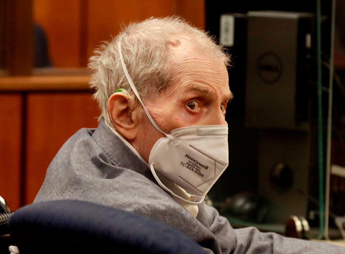"""Los fiscales llamaron """"psicópata narcisista"""" a Robert Durst."""