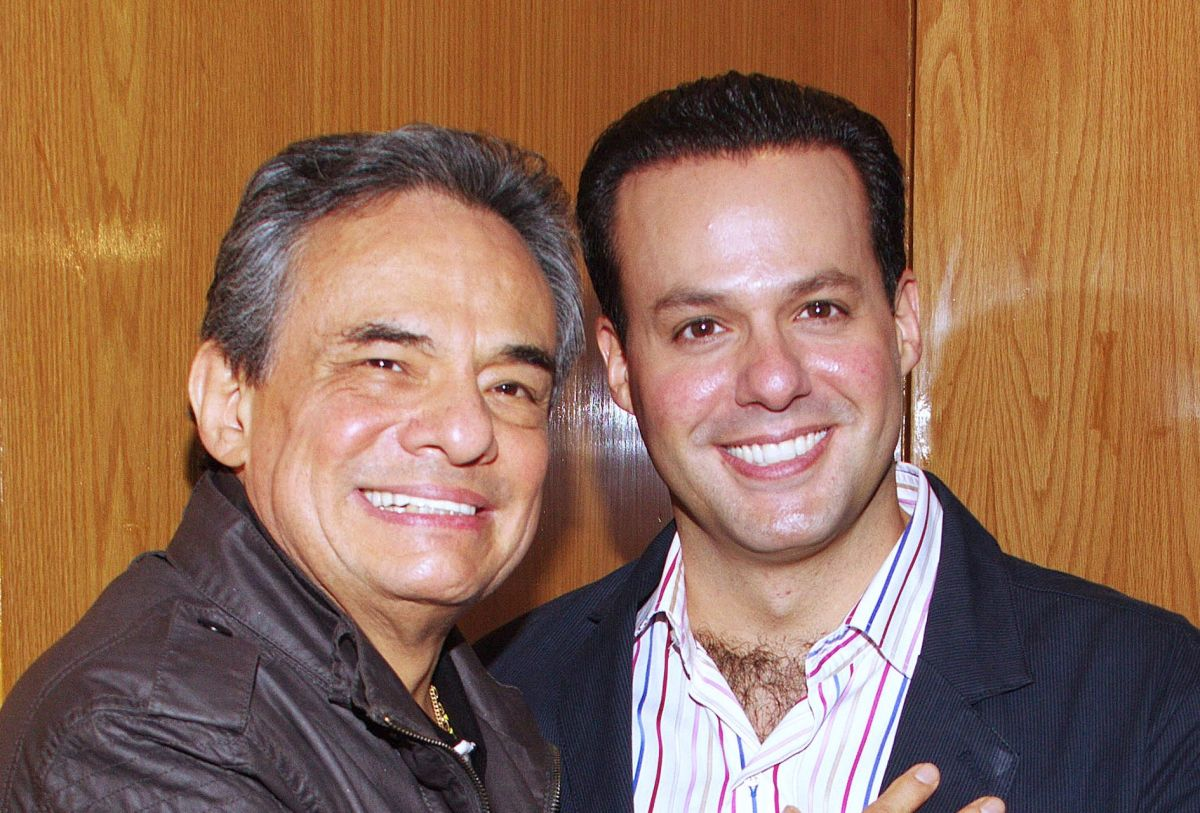José José y su hijo José Joel.