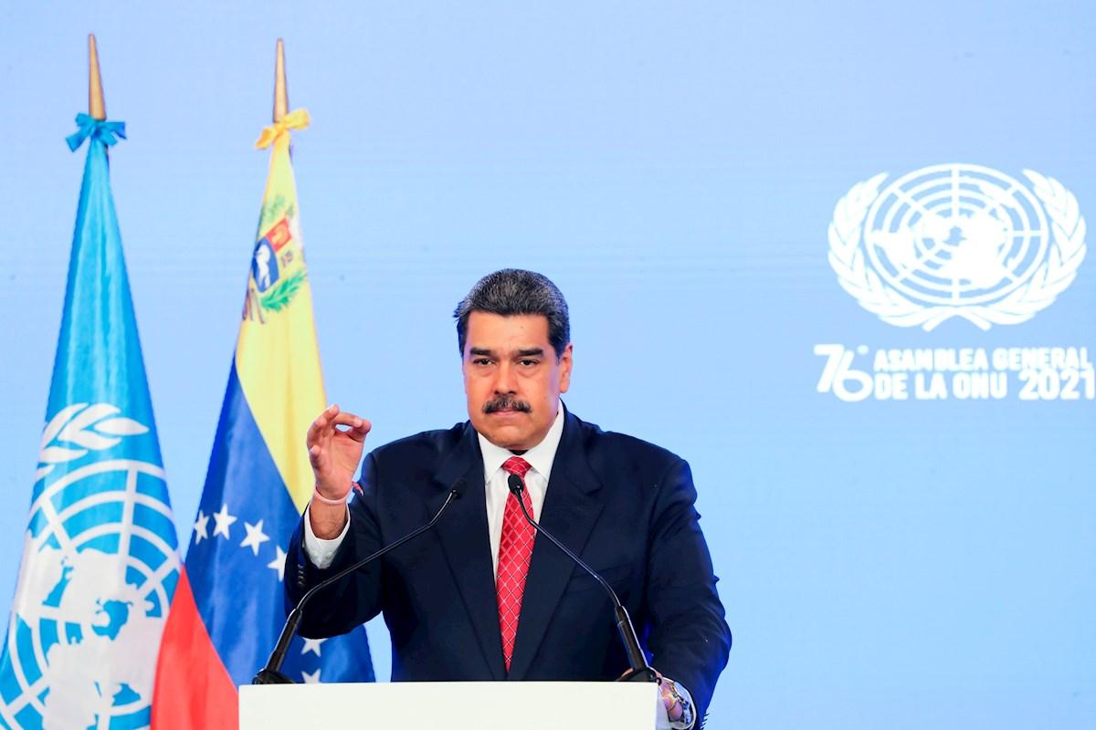 Nicolás Maduro exigen ante la ONU levantar sanciones contra su país.