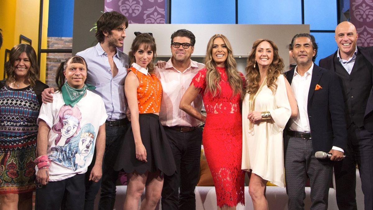 Elenco del programa 'Hoy' de Televisa.