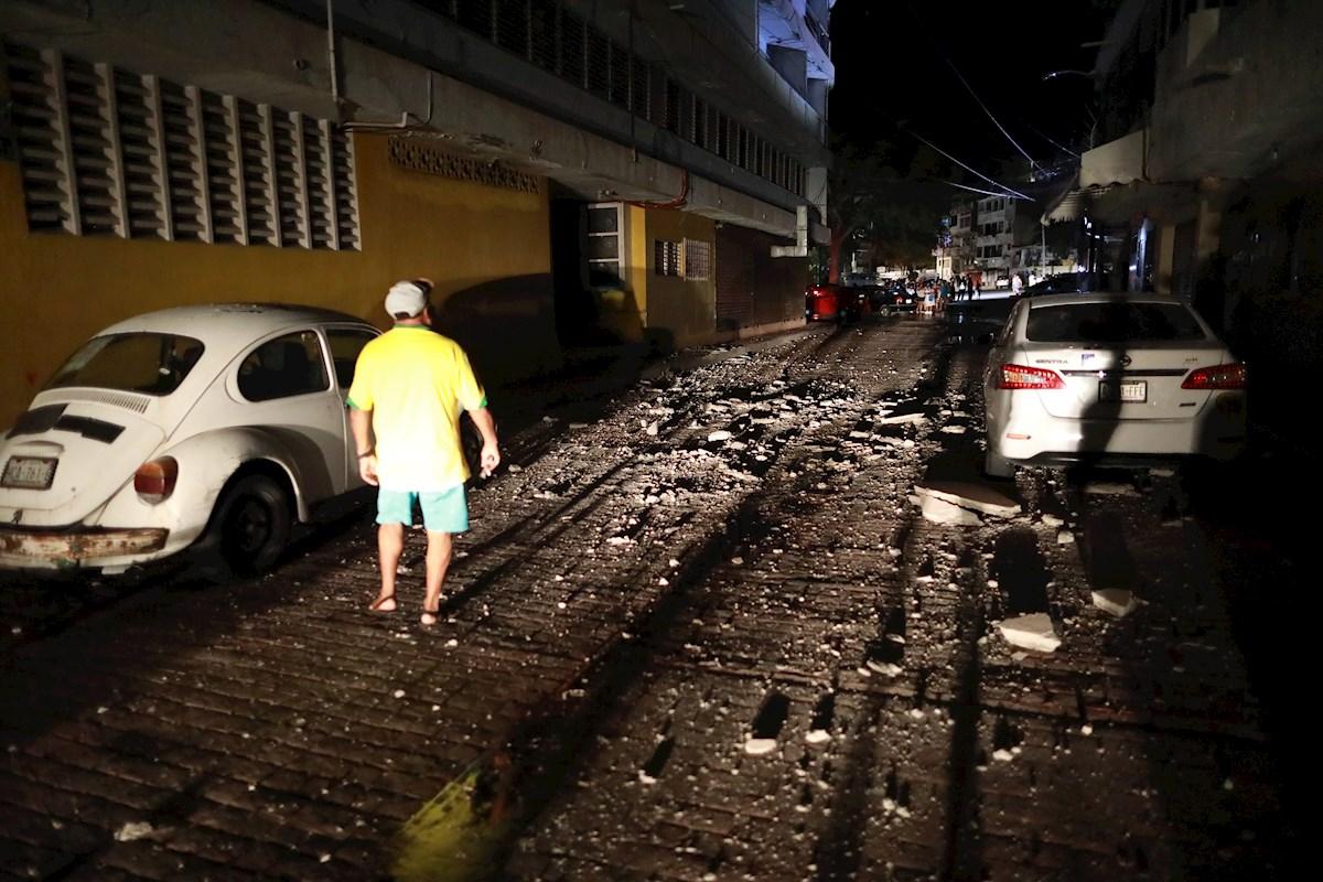 Con el de este 7 de septiembre, han habido cuatro grandes terremotos en México en dicho mes a través de la historia.