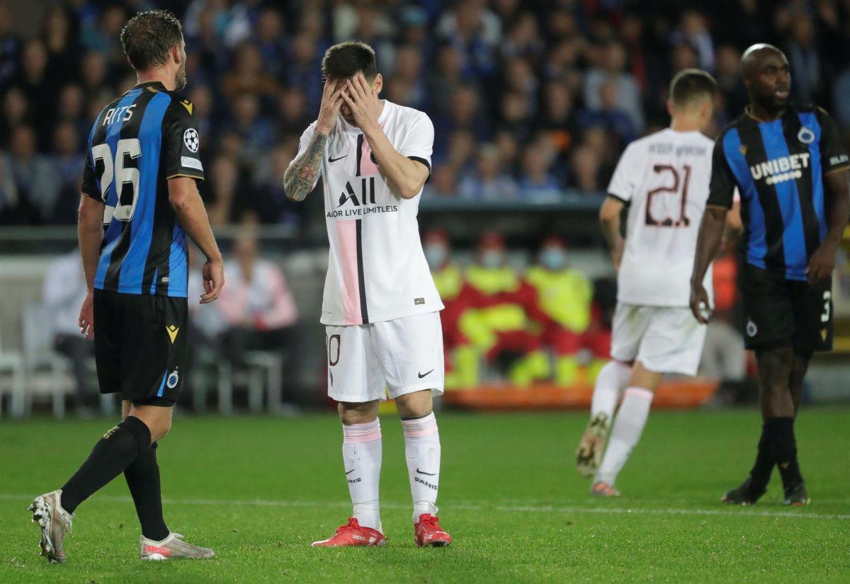 Ni Messi ni el resto del tridente ofensivo del PSG pudieron garantizar la victoria en el arranque de la Liga de Campeones.
