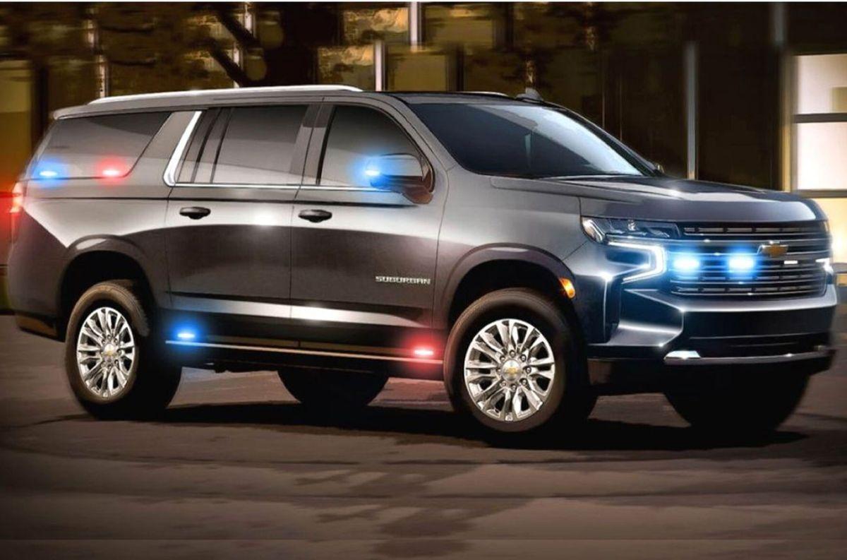 Así es la Chevrolet Suburban para diplomáticos