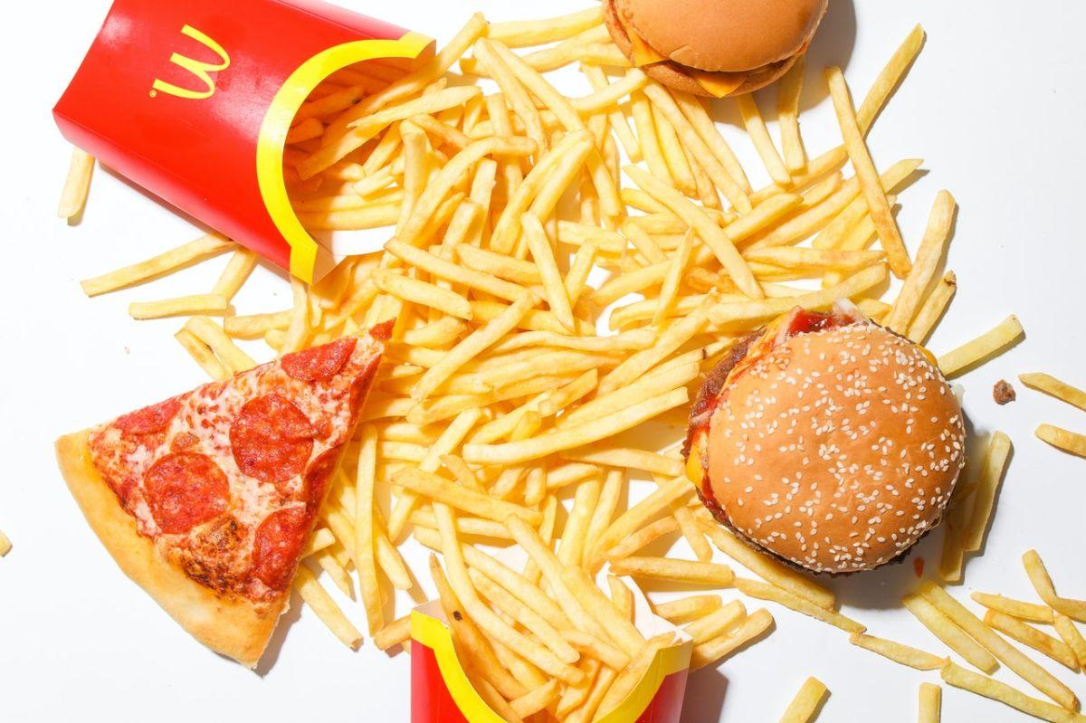 Las papas fritas son la comida favorita de McDonald's.