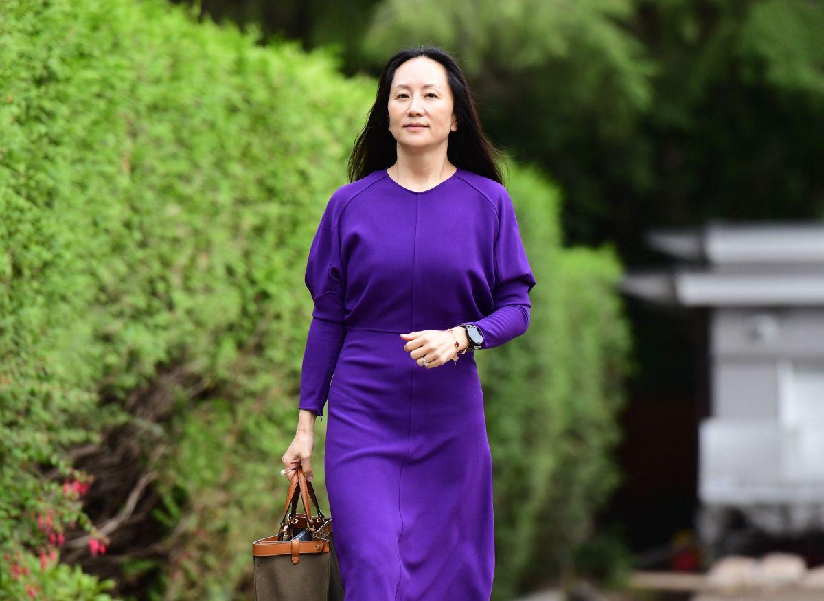 Como parte del acuerdo, Meng Wanzhou, directora financiera de Huawei, fue liberada y regresó a China,