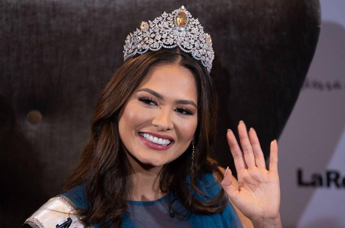 Andrea Meza, Miss Universo 2021.