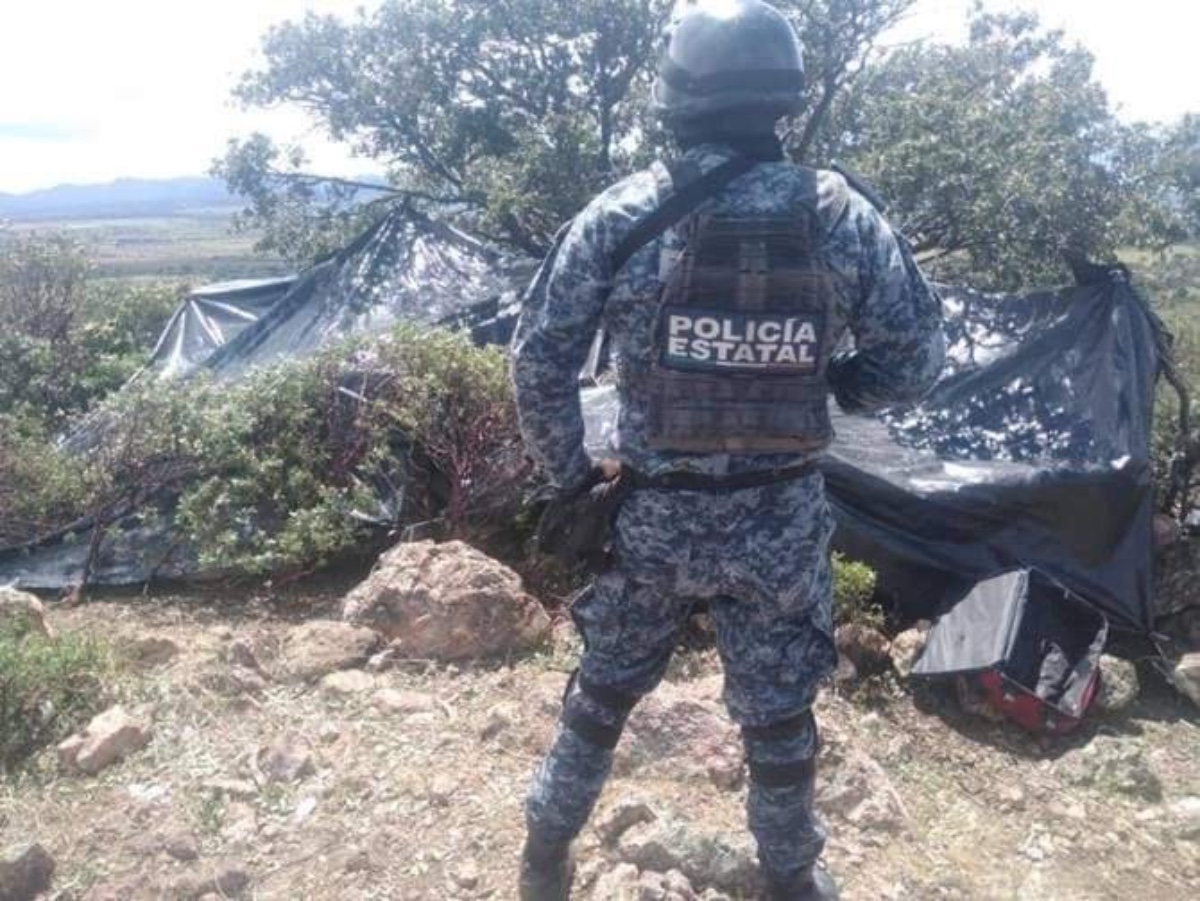 FOTOS: Desmantelan narcocampamentos luego que CJNG exhibiera cabezas de integrantes del Cártel de Sinaloa