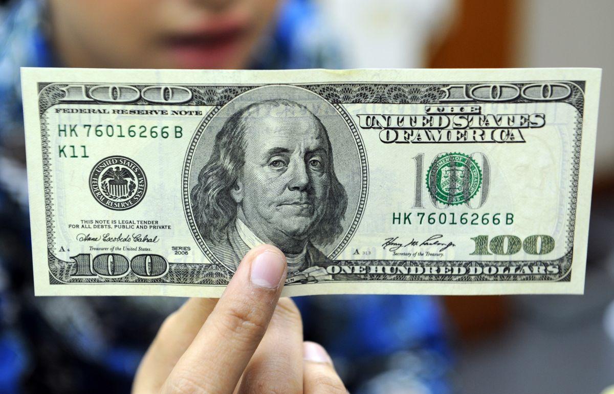 Precio del dólar frente al peso mexicano.