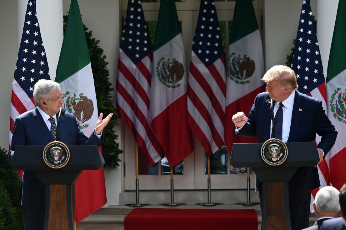 El 8 de julio del 2020 fue el encuentro entre los presidentes Andrés Manuel López Obrador y Donald Trump.