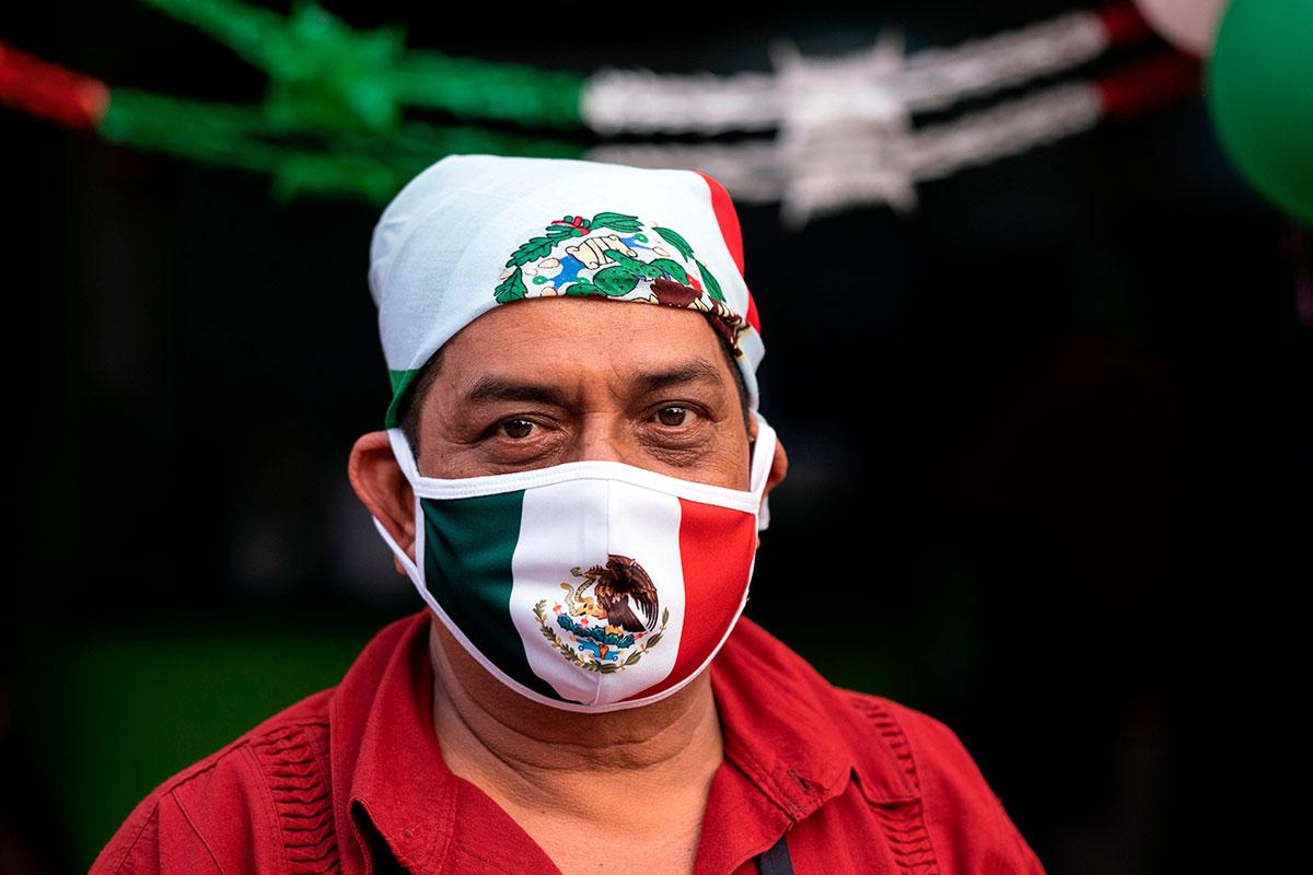 México celebra el Día de la Independencia nuevamente bajo las restricciones por la COVID-19.