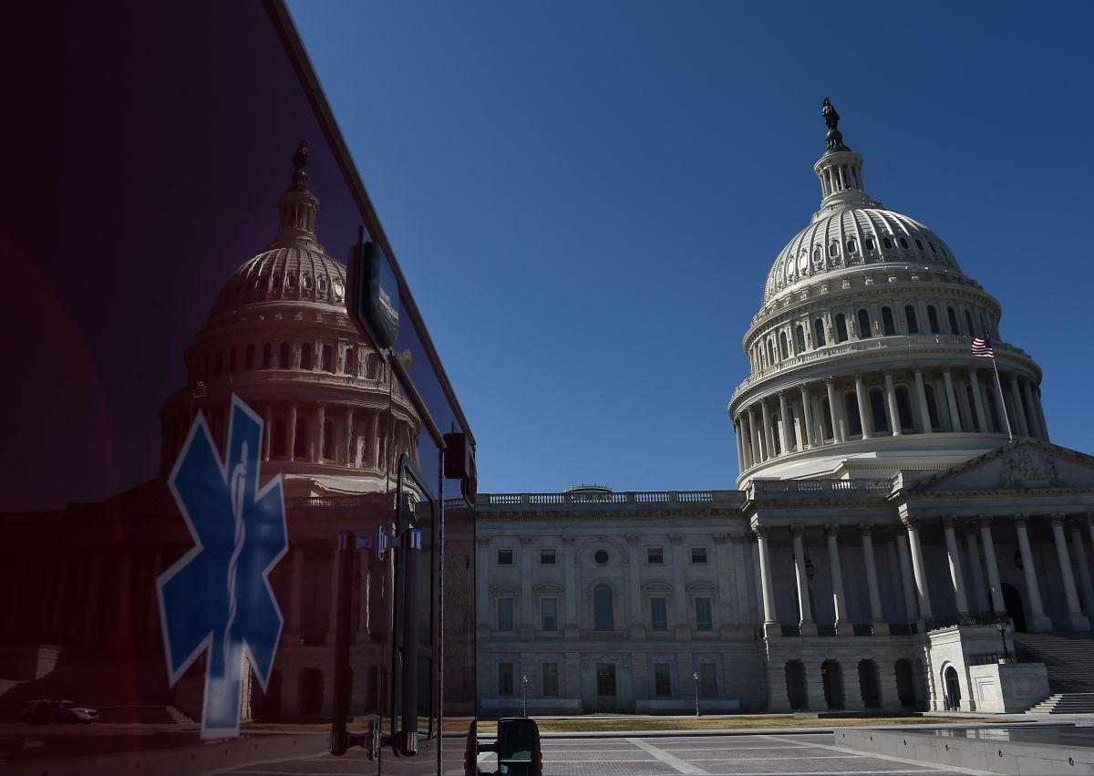 La sede del Congreso es el Capitolio de EE:UU: en Capitol Hill, en Washington, D.C.