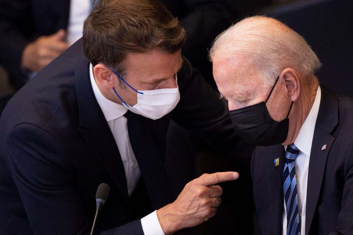 Los mandatarios de Estados Unidos y Francia se reunirán a finales de octubre para limar asperezas luego del acuerdo militar con submarinos.