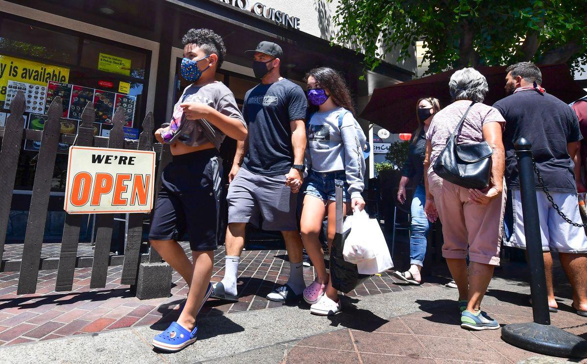 La mayoría de la población en Los Ángeles es latina. / Getty.