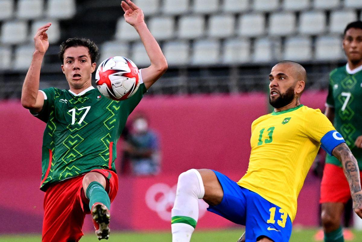 Alves formó parte de la Canarinha que venció a El Tri en los Juegos Olímpicos de Tokio 2020.