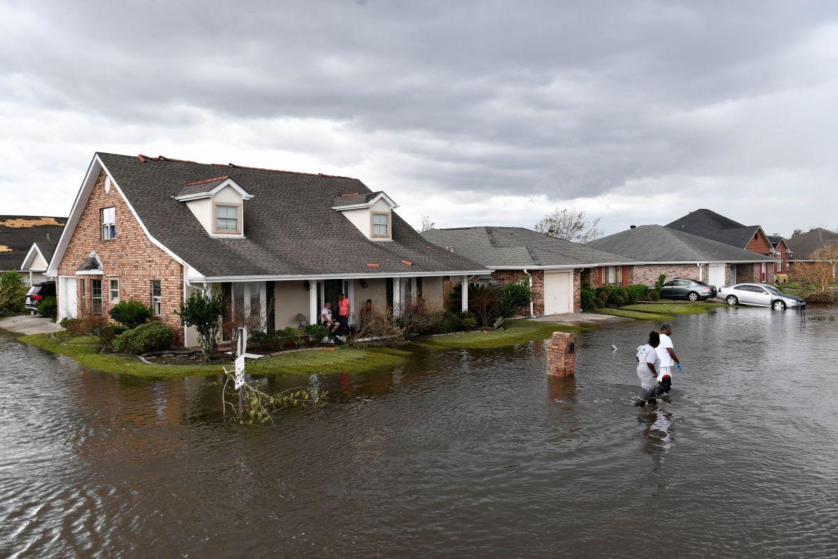 El huracán Ida causó enormes inundaciones en Louisiana.