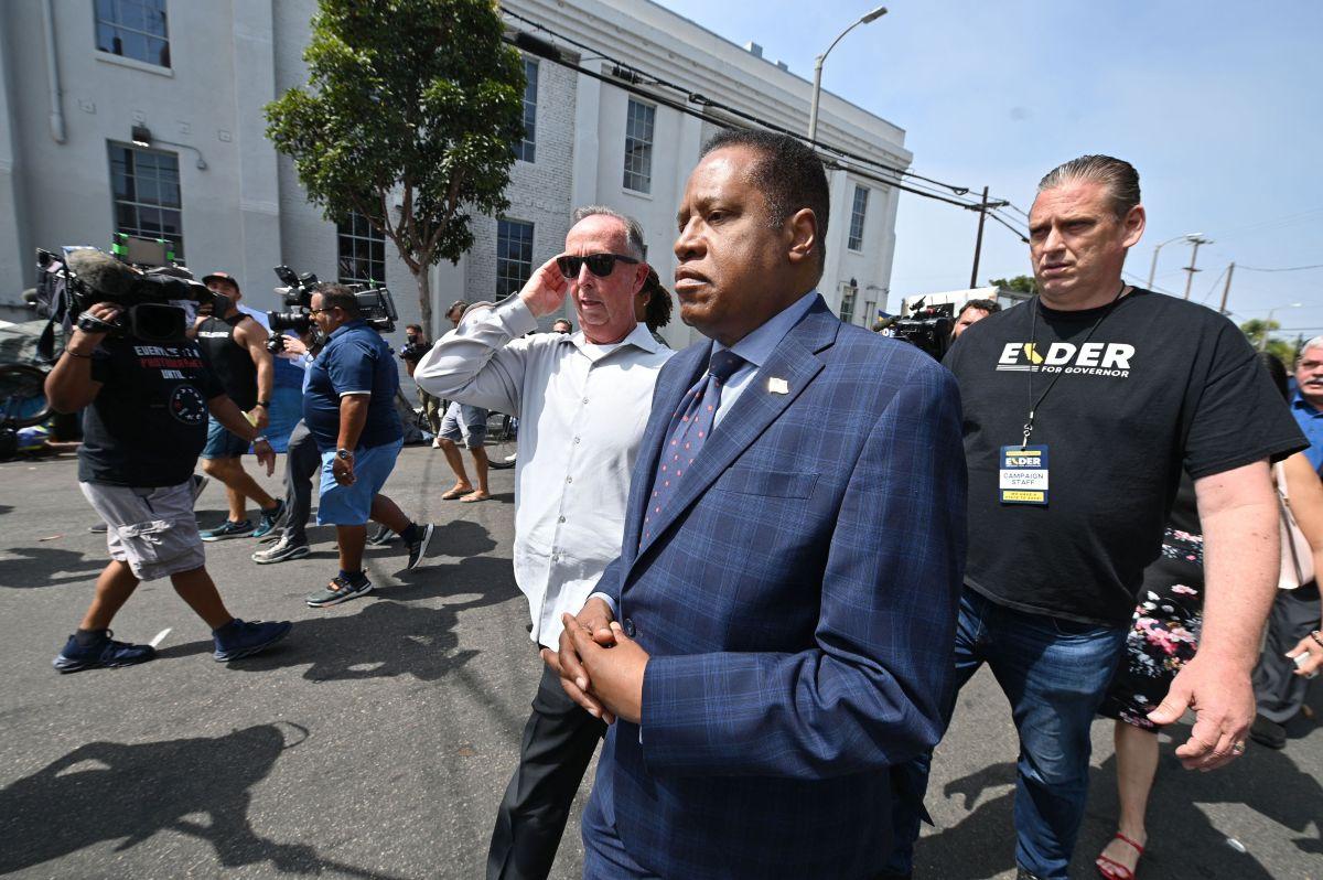 De ganar el Sí en la elección revocatoria, Larry Elder es uno de los candidatos a ser gobernador de California.